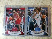 2019-20 Chronicles Rookies & Stars Coby White Red RC /149 & Ja Morant #681
