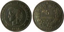 5  CENTIMES  CERES  1871  K  BORDEAUX  ,  RARE