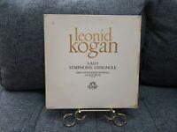 Leonid Kogan, Paris Conservatoire Orchestra / Symponie Espannole / Angel 35503