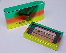 M.A.C Veluxe Pearlfusion Eyeshadow Trio Warm Wash 0.07oz./2g Nib