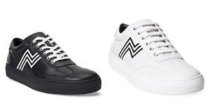 Ralph Lauren Purple Label Savir Leather Sneakers Trainers New $695
