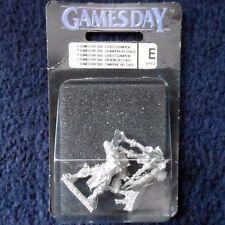 2002 Limited PR17 Games Day Chaos Champion Citadel Warhammer Army Warrior MIB GW