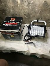 Beamer 12 Volt DC 100 Watt Halogen Floodlight Model I-5100 Automotive MVP Light