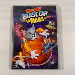 Tom And Jerry - Blast Off To Mars (DVD 2005) Animation Region 4