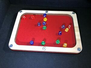 Wargaming Dice tray, Many design and colour options.