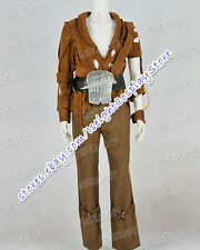 Star Trek II The Wrath Of Khan Khan Brown Suit Costume Halloween High Quality
