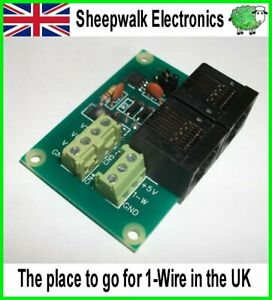 SWE3 1-Wire Humidity Sensor Module DS18B20 DS18S20 OWFS