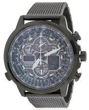 Citizen Navihawk A-T Perpetual Atomic Chronograph Mens Watch JY8037-50E
