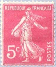 EBS France 1933 Type Semeuse fond plein 5 centimes YT 278B MH*