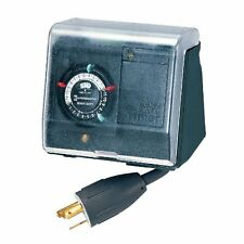 Intermatic P1131 Heavy Duty Above Ground Pool Pump Timer with Twist Lock Plug an