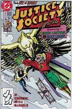 Justice Society of America #6 - DC - 1991