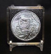 12pk Somalian Elephant 1oz Silver QUADRUM INTERCEPT 2x2 Coin Capsule 39mm Case