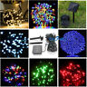 200/100 Outdoor Solar Powered String Light Garden Christmas Party Fairy Lamp