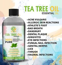 TEA TREE essential oil ( TeaTree ) Certified 100% Pure & Natural Best Quality UK