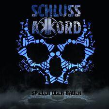 SCHLUSSAKKORD - SPIELER ODER BAUER (LIMITED DIGIPAK)   CD NEW+