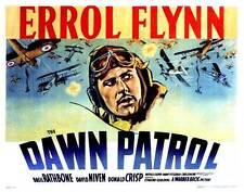 THE DAWN PATROL Movie POSTER 22x28 Half Sheet