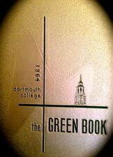 """1964 DARTMOUTH COLLEGE YEARBOOK """"Green Book"""""""