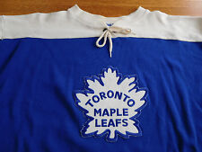 Toronto Maple Leafs Jersey Shirt Sweater XL Ebbets Field Flannels