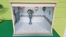 Dolls House Decorated Room Box, Flowers and Urn (Cost in Excess of £100.00)