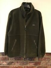 Peter Storm Mens Green Fleece Jacket Size S Excellent Condition