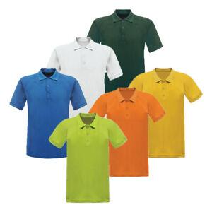 Men's Regatta Coolweave Short Sleeve Summer Work Tee T Golf Polo Shirt RRP £25
