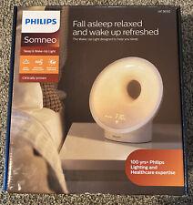 Philips Somneo Sleep and Wake-Up Light Therapy Lamp with Sunrise Alarm HF3650