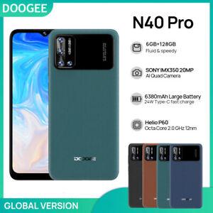 "6.52"" DOOGEE N40 Pro Global Version Smartphone Helio P60 6GB+128GB 6380mAh 20MP"