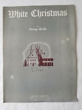 White Christmas by Irving Berlin Sheet Music  Piano Voice Guitar Ukulele Banjo