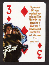 Aliens Sigourney Weaver Neat Playing Card #6Y8