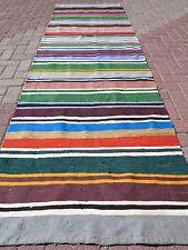 """Anatolian Kurdish Malatya Kilim Runner 36,2"""" x 122"""" Area Rug Runner Carpet"""