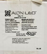 Aion LED D50-DC  24V DC Dimming Magnetic LED Driver 120V- Wet Location Suitable