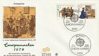 GERMANY 17 MAY 1979 EUROPA POST & TELECOMMUNICATION FIRST DAY COVER BONN SHS