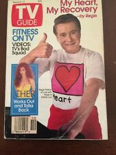 TV Guide March 6-12, 1993 Regis:  Heart Recovery, Cher Works Out and Talks Back