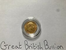 More details for 1906 gold half sovereign edward vii