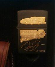 Ltd Ed Zippo - Matco Tools Racing - Dean Skuzo - w/ Leather Case - 1 of 5,000