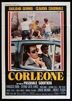 M218 Manifesto 2F Corleone Giuliano Gemma Claudia Cardinale Pascua Squitieri