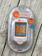 Sudoku Illuminated Hand Held Logic Puzzle Electronic Video Game New Sealed