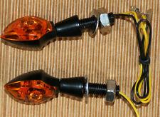2 PCS LED TURN SIGNALS FOR SUZUKI TS DR DRZ DR350 650 DL DRZ400 GSXR SV ++NEW++