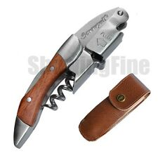 Screwpull corkscrew wine bottle opener waiters rosewood handle Free shipping