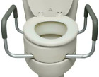 Best Toilet Seat Risers - Raised Toilet Seat with Arms, Elongated for Elderly Review
