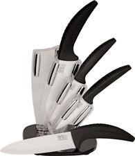 New Hen & Rooster Ceramic Kitchen Knife Set HRI021