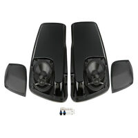 Saddle Bag Lids W/ 5×7 Speakers For Harley Touring Electra Road Glide 2014-2018