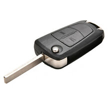 For Vauxhall Opel Corsa Astra Vectra Zafira 2Button Remote Flip Key Fob Case 4H