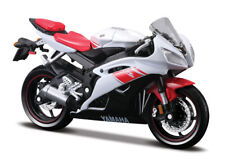 Motorrad Modell 1:18 Yamaha YZF-R 6 rot weiss von Maisto