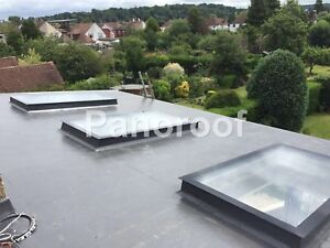 SKYLIGHT ROOFLIGHT TRIPLE GLAZED CLEAR SELF CLEANING GLASS TOUGHENED OR LAMINATE