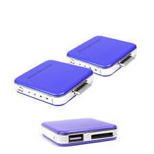 2 2200MAH EXTERNAL BLUE BATTERY MOBILE CHARGER USB IPHONE 4S 4 3GS IPOD CLASSIC