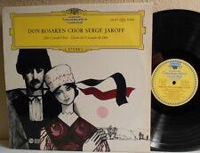 DON COSSACK CHOIR LP Serge Jaroff DGG Tulips 136 457 SLPEM Ex / M- with Insert
