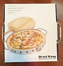 Broil King Imperial Restaurant Quality Pizza Stone & Pizza Peel Grill Set 69815