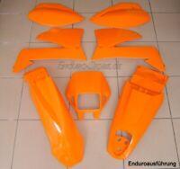 Plastiksatz Plastikkit orange KTM LC4 EGS SXC SMC 99 Enduro Verkleidung