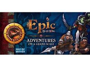 EPIC BATTLELORE ADVENTURES ON A GRAND SCALE EXPANSION set New IN SHRINK!!